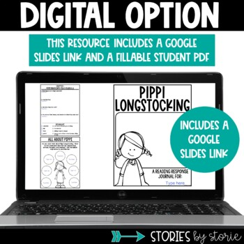 Pippi Longstocking Book Questions & Vocabulary