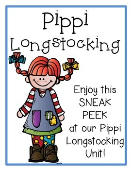 Pippi Longstocking FREEBIE!