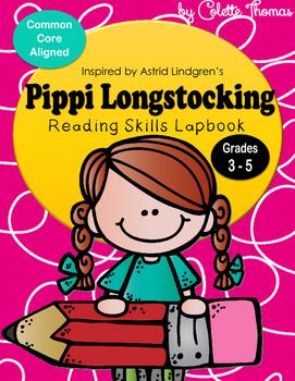 Pippi Longstocking Lapbook