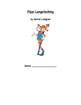 Pippi Longstocking Literature Response Log