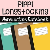 Pippi Longstocking Interactive Notebook Novel Unit Study A