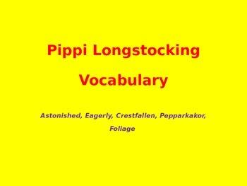 Pippi Longstocking Vocabulary Chapter 5