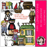 Pippi Longstocking clip art - by Melonheadz