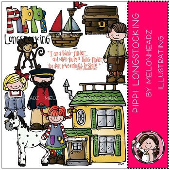 Pippi Longstocking by Melonheadz COMBO PACK