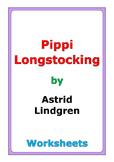 """Astrid Lindgren """"Pippi Longstocking"""" worksheets"""