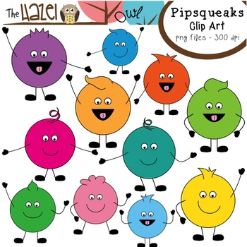 Pipsqueaks Clip Art: Graphics for Teachers