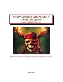 Piracy Unit - Creative Writing