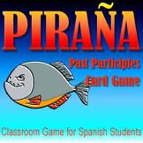 Piraña - Spanish Past Participle Card Game