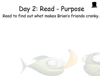 Piranhas Don't Eat Bananas Guided Reading Weekly Plan - Four Blocks Literacy