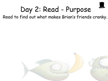 Piranhas Don't Eat Bananas Guided Reading Weekly Plan - Four Blocks Literacy