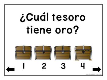 Pirata preposiciones - No Print - Prepositions in Spanish Speech Therapy