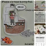 Piratas a la vista Pirates Activity Pack and Minibook Span