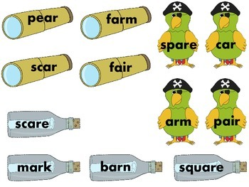 Pirate AR Words