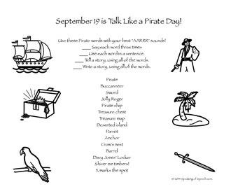Pirate ARRRtic and Language