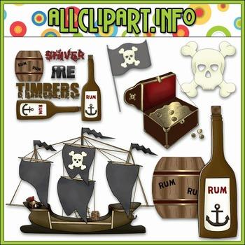 $1.00 BARGAIN BIN - Pirate Accents Clip Art