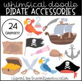 Pirate Accessories Clip Art [24 Graphics!]