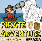Pirate Activities - Apraxia of Speech Activities - Speech