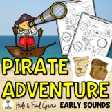 Pirate Activities - Early Sounds - Articulation Activities