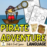 Pirate Activities - Language Activities - Low Prep Speech Therapy