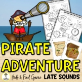 Pirate Activities - Late Sounds - Speech Therapy Activities