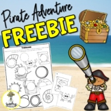 Pirate Activities - Speech Therapy FREEBIE - Low Prep Arti