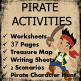 Treasure hunt and pirate activities