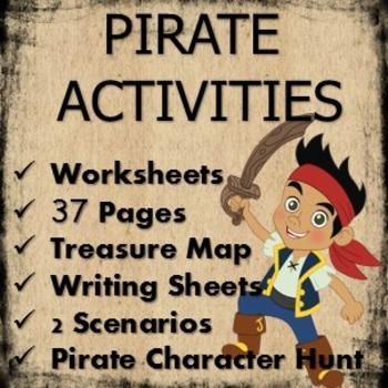 Treasure hunt and pirate activities