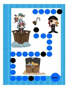 Pirate Addition Game