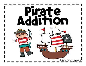 Pirate Addition Math Work Station