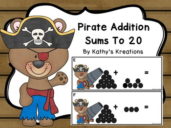 Pirate Addition Sums To 20