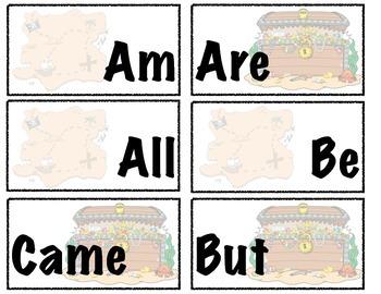 Pirate Adventure / Sight Word Game / Kindergarten