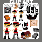 Pirate clipart / Pirate Adventure clip art (teacher resource) ahoy