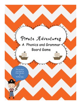 Pirate Adventures Phonics and Grammar Game