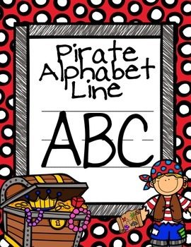 Pirate Alphabet