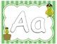 Pirate Alphabet Play Dough Mats- Aa-Zz