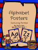 Pirate Alphabet Posters