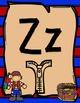 Pirate Alphabet Posters