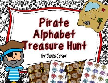 Pirate Alphabet Treasure Hunt