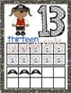 Pirate Alphabet and Number Posters - Bundle