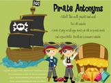 Pirate Antonyms Game for Speech Therapy