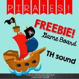 Pirate TH Game Board FREEBIE
