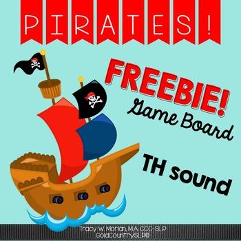 Pirate TH Game Board FREEBIE