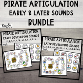 Pirate Articulation {Early & Later Sounds BUNDLE}