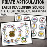 Pirate Articulation {Later Developing Sounds}