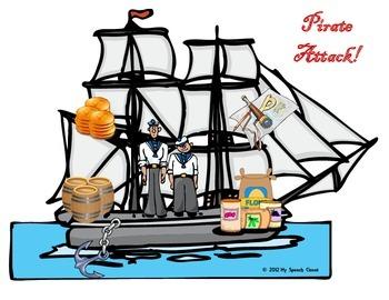 Pirate Attack Card Game