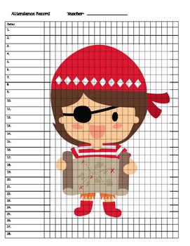 Pirate Attendance Records