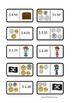 Pirate Australian Coin Combination Dominoes