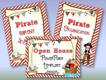 Pirate Back-to-School Timesaver Bundle