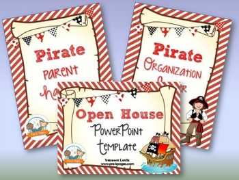 Pirate Back-to-School Timesaver Bundle