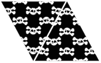 Pirate Banner Bunting: Motivational Chalkboard Charm